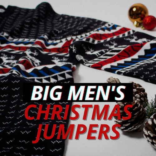 Best Big Men's Christmas Jumpers 2020