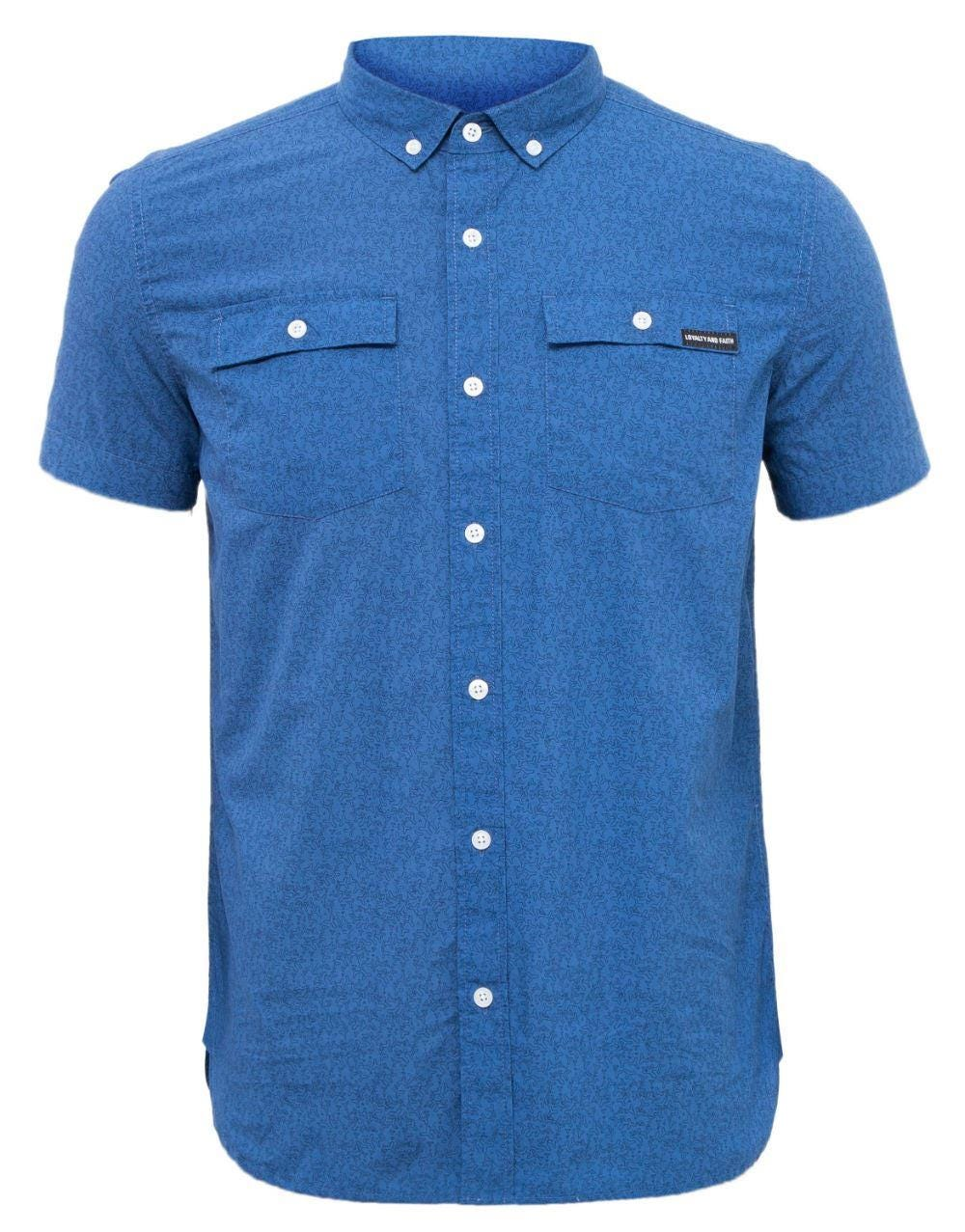 Loyalty & Faith Bronte Shirt - Blue|4XL