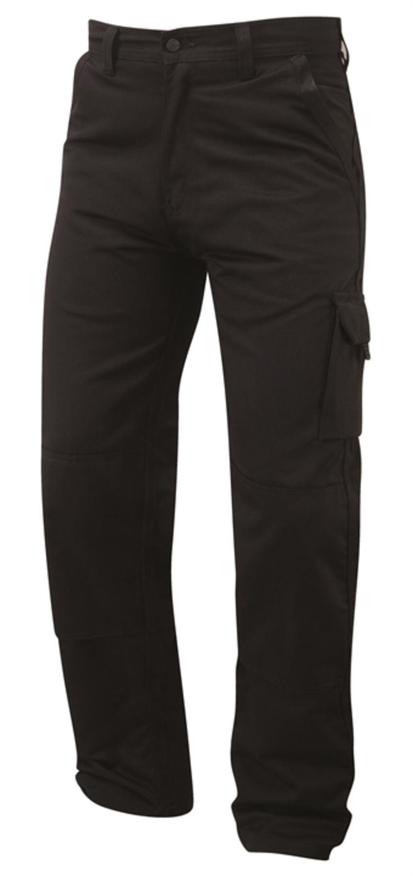 Orn Heron Kneepad Combat Trousers - Black|46W29L