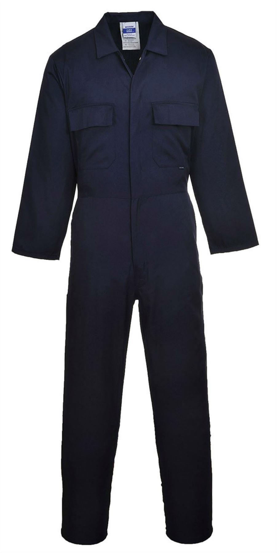 Portwest Standard Workwear Overalls - Navy