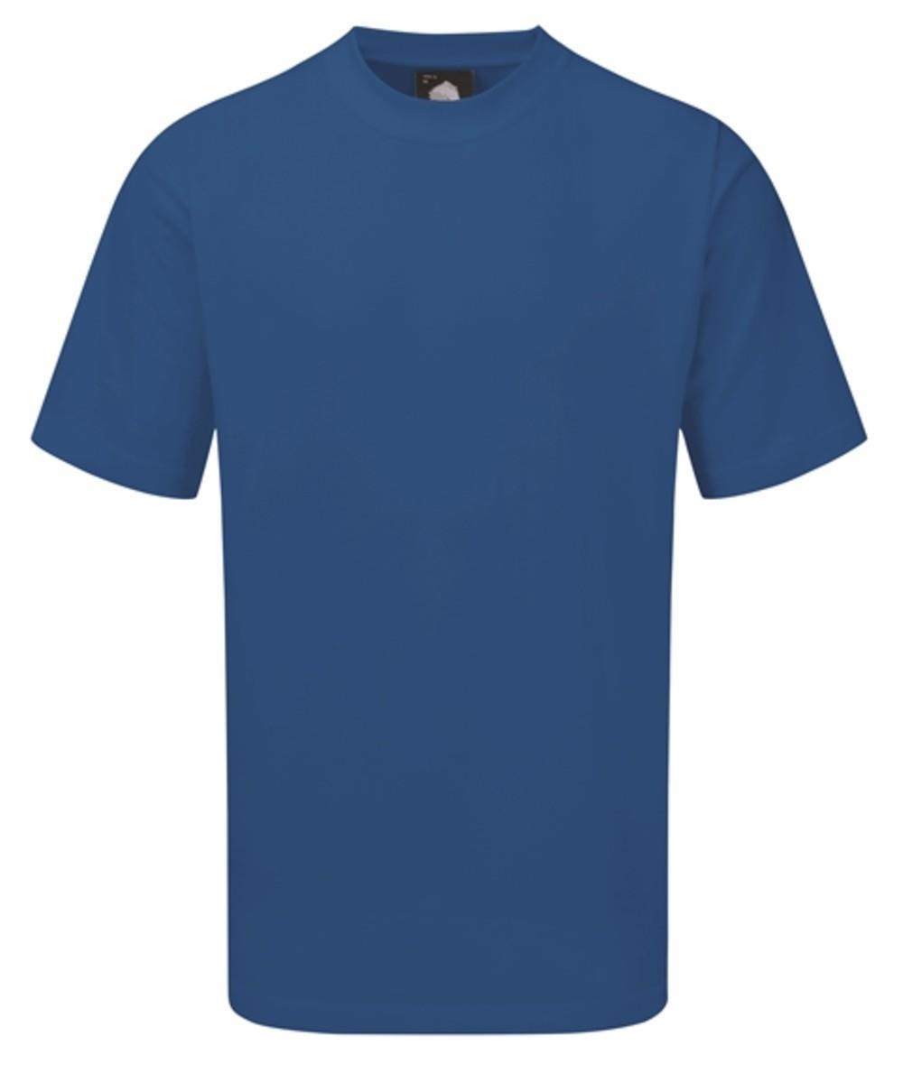 Orn Plover Premium T-Shirt - Bright Blue 3XL