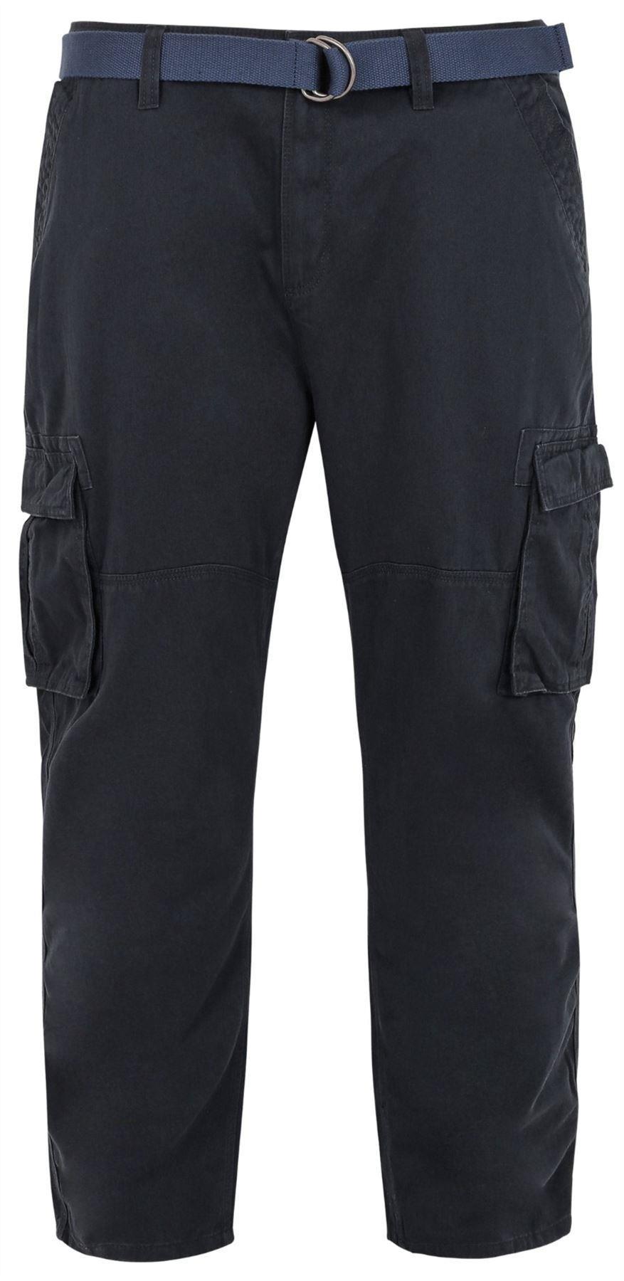 Bad Rhino Cargo Trousers - Navy|56W32L