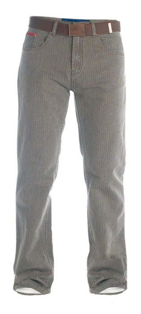 Duke Brian Bedford Cord Jeans - Brown - 50
