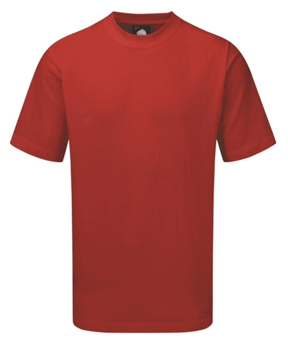 Orn Plover Premium T-Shirt - Red