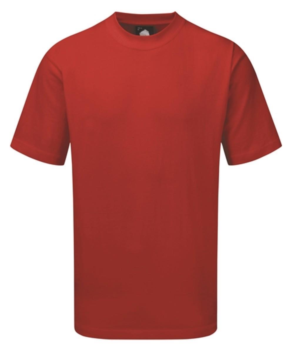 Orn Plover Premium T-Shirt - Red 5XL