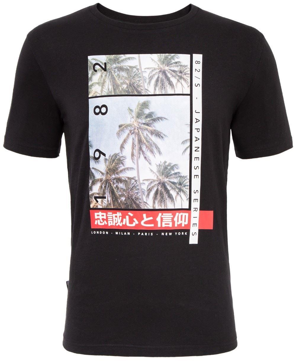 Loyalty & Faith Snap T-Shirt - Black
