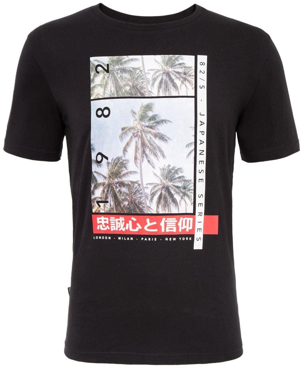 Loyalty & Faith Snap T-Shirt - Black|3XL