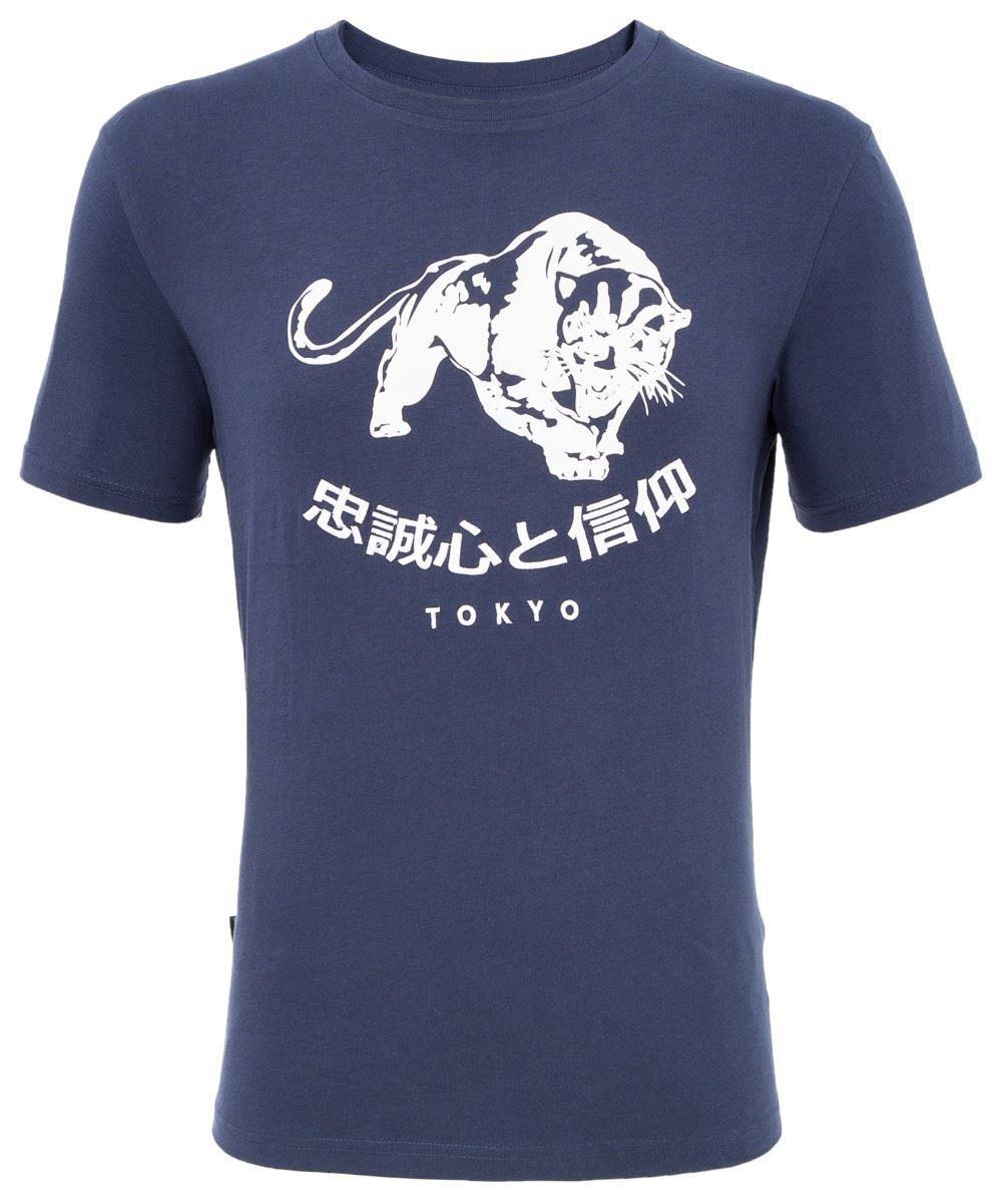 Loyalty & Faith Blocker T-Shirt - Dark Blue