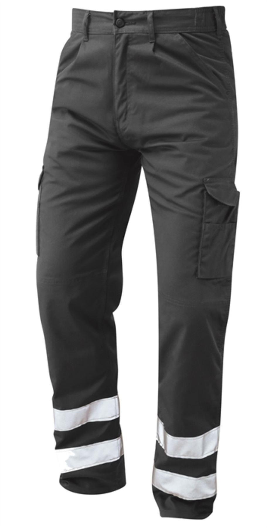Orn Condor Hi Vis Kneepad Trousers - Graphite Grey|42W35L