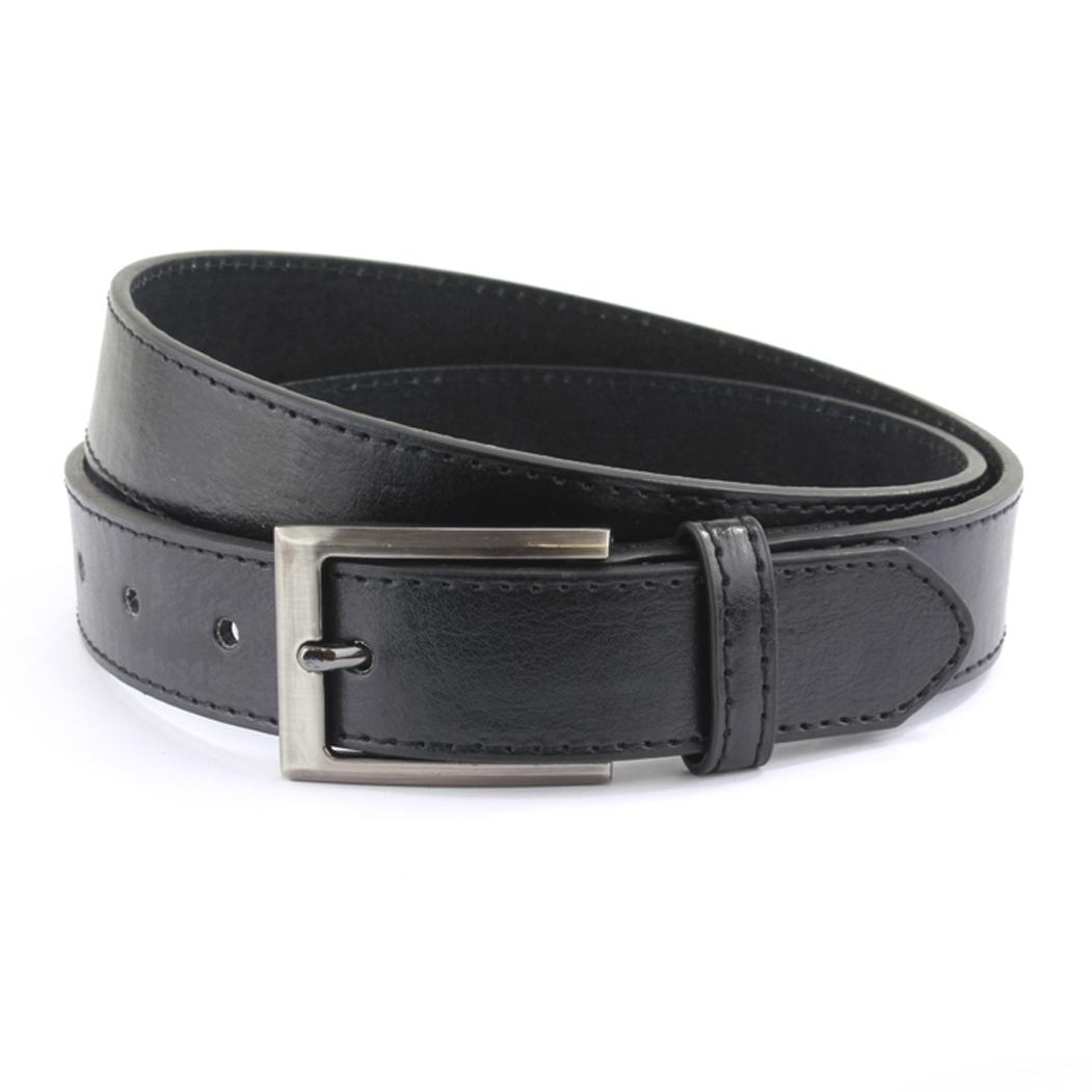 Sophos Leather Belt - Black