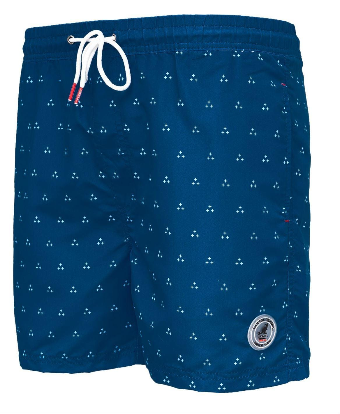 Kangol Cohen Swimming Shorts - Cobalt Navy Blue