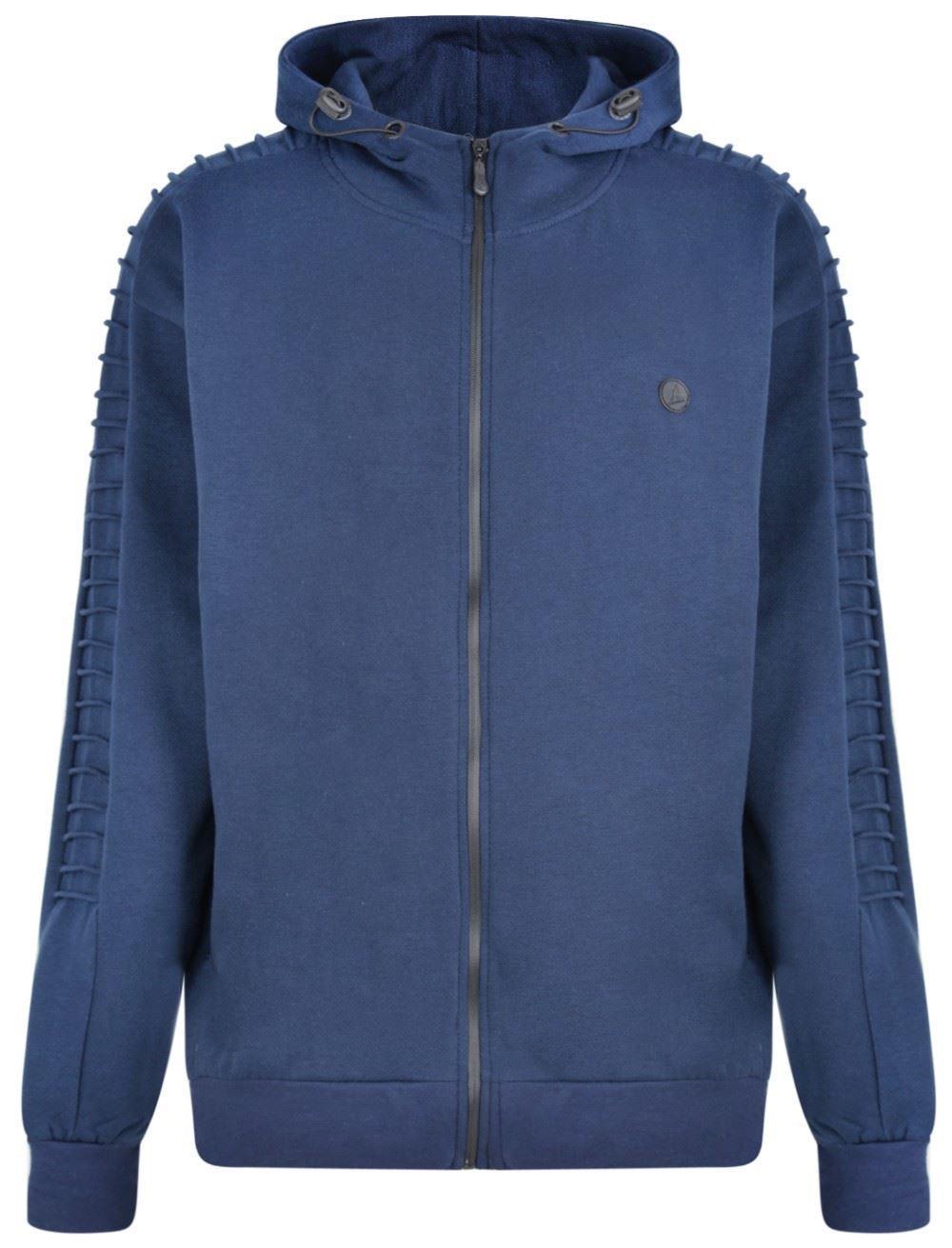 b78d21ea Kangol Branxton Zip-Through Hoody - Navy 6XL 7XL 8XL Big Clothing 4 U