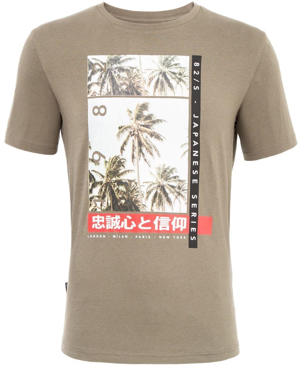 Loyalty & Faith Snap T-Shirt - Green