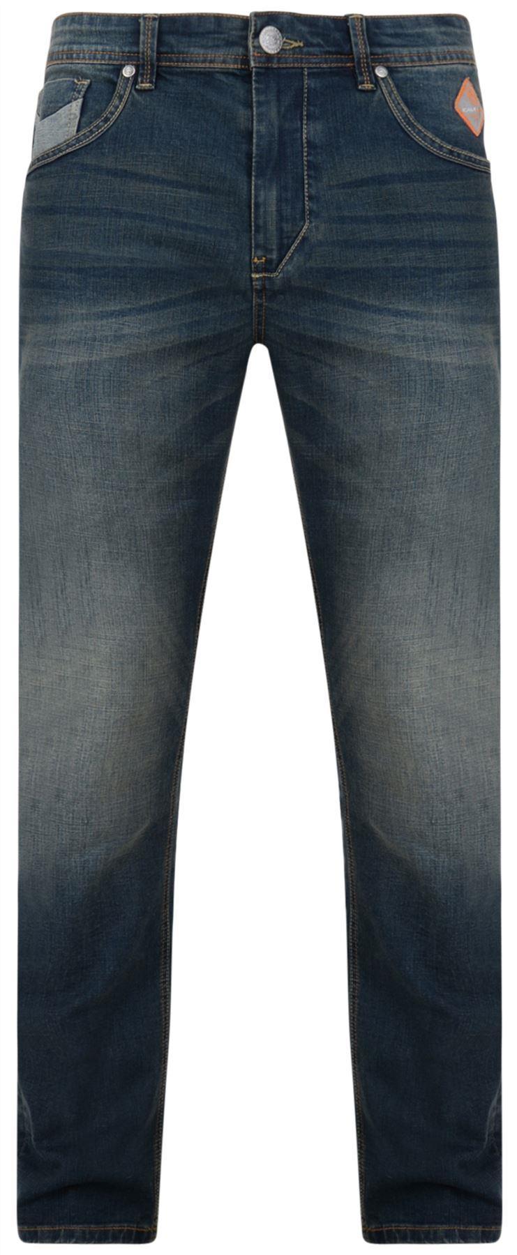 0ea688d8 Kam Ruben Tall Fit Jeans - Blue|66 68 70 72 Inch Big Clothing 4 U