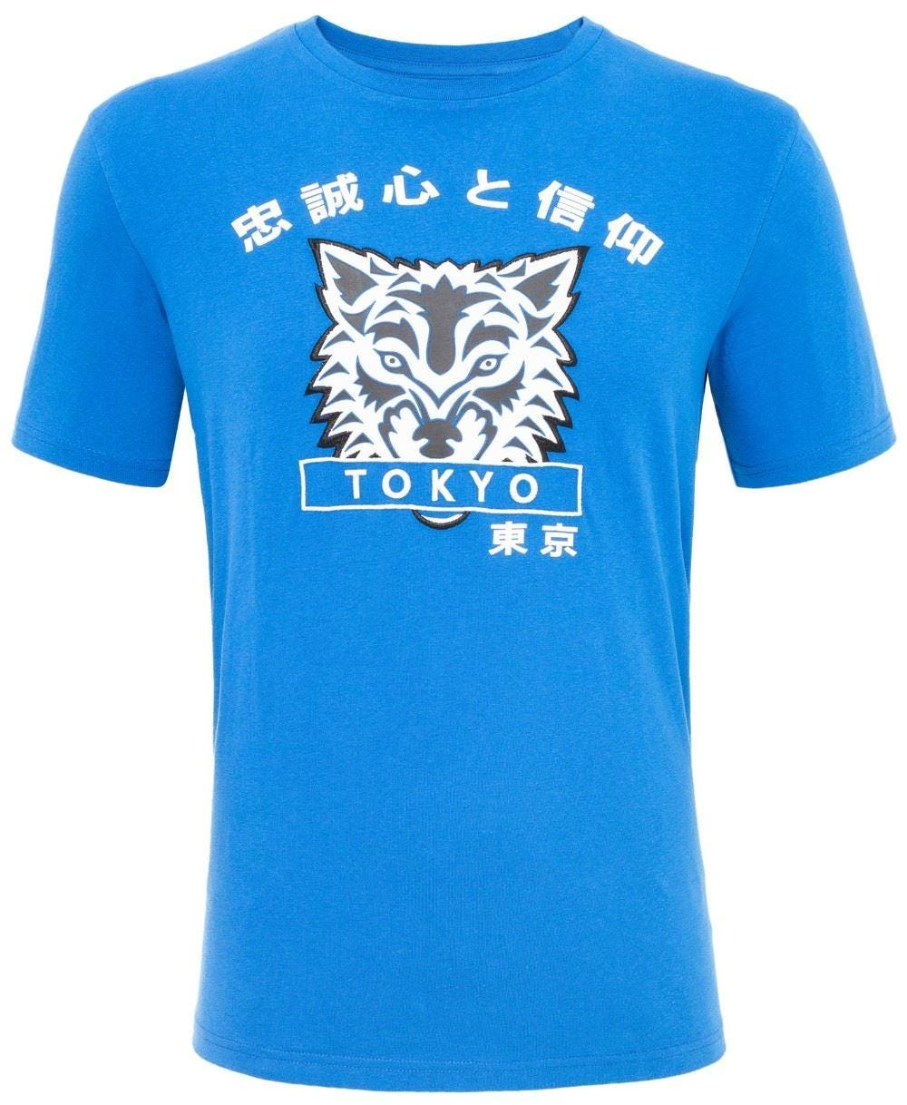 Loyalty & Faith Cracker T-Shirt - Blue