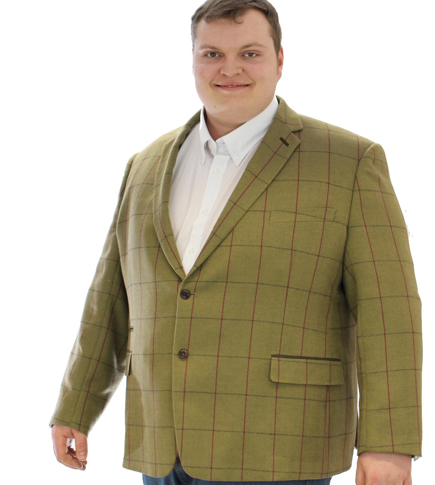 Skopes Ingleton Tweed Jacket|Green |68