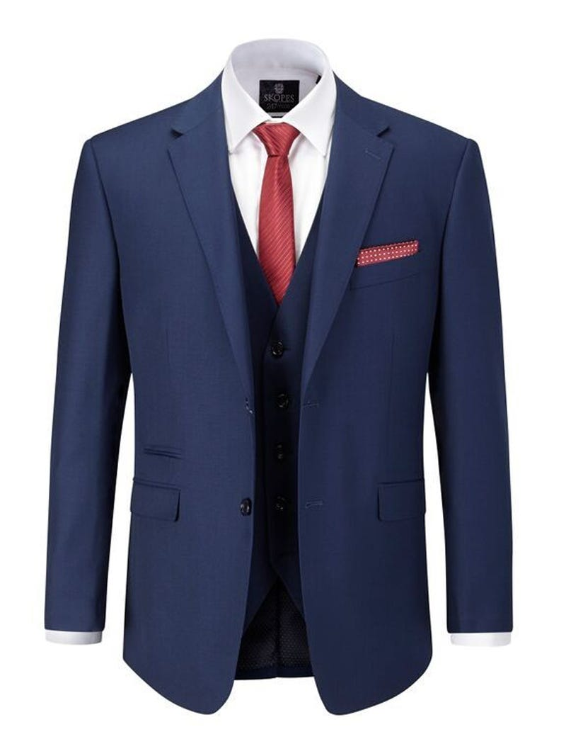 Skopes Kennedy Suit Jacket|Blue|58