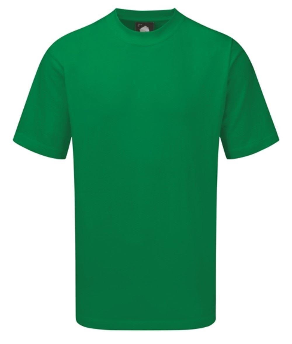 Orn Plover Premium T-Shirt - Light Green 4XL