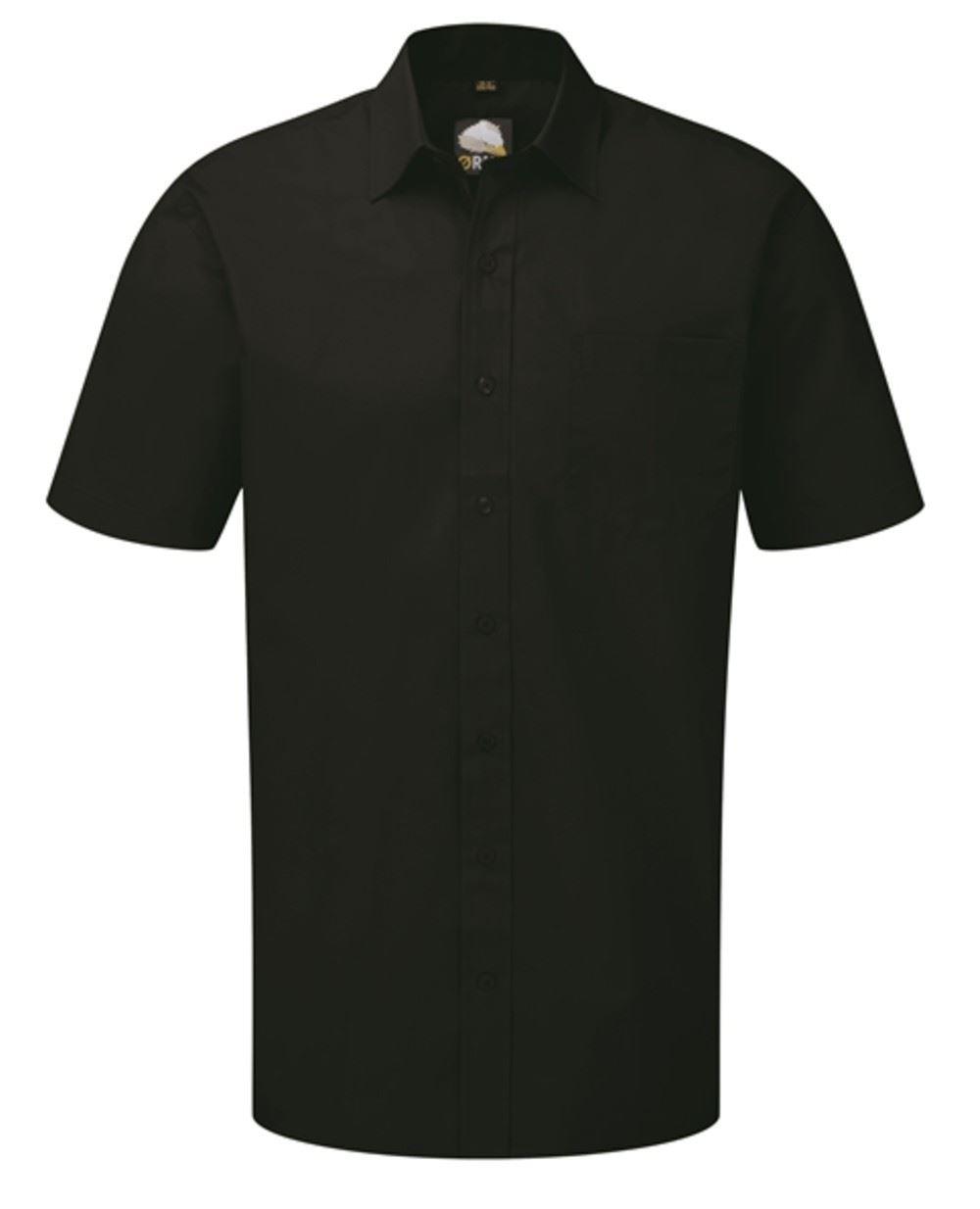 Orn Manchester Short Sleeve Shirt - Black|21