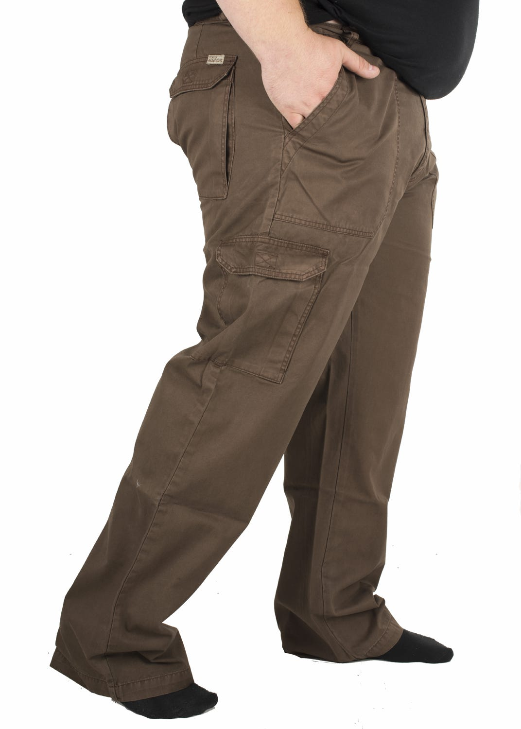 Ed Baxter Victory - Heavy Duty Cargo Combat Trousers - Chocolate