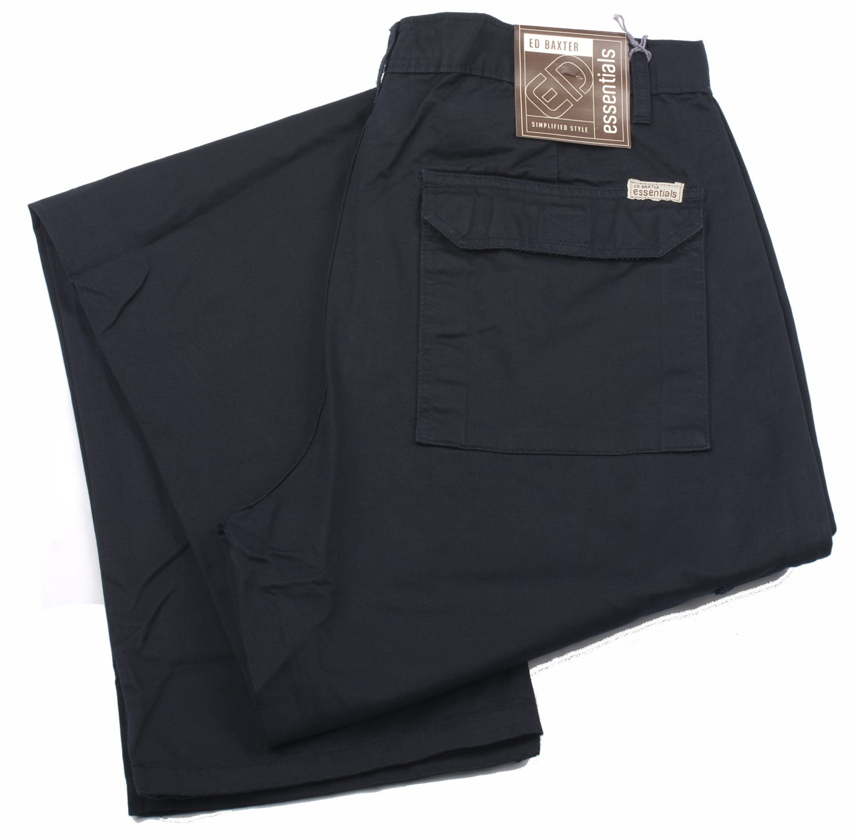 Ed Baxter Victory - Heavy Duty Cargo Combat Trousers - Navy