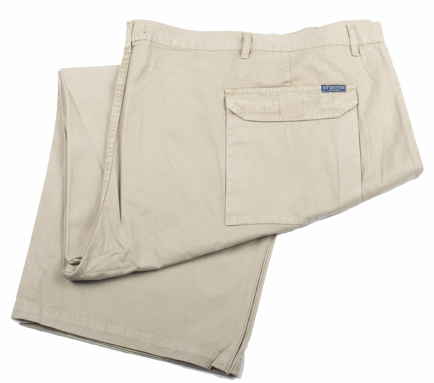 Ed Baxter Victory - Heavy Duty Cargo Combat Trousers - Putty