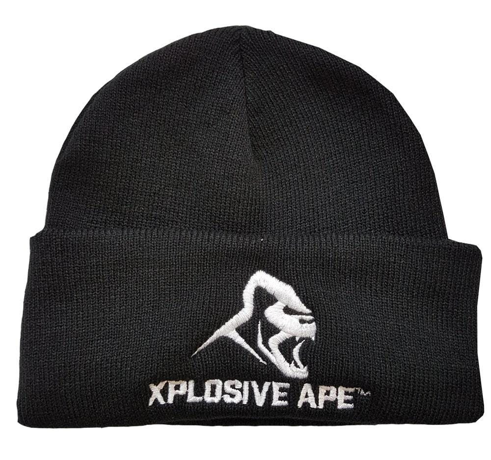 Clothing & Accessories Xplosive Ape One Size Fits All Beanie - Black|One Size