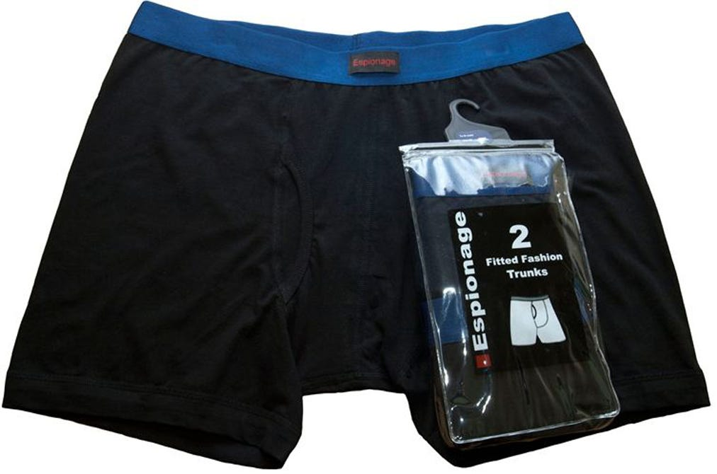 Espionage Twin Pack Under Pants Trunks