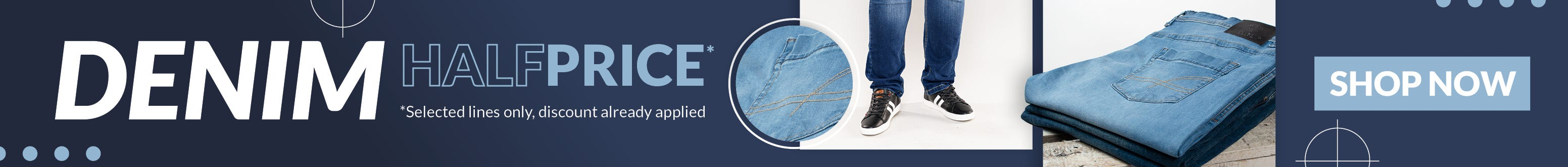 Big Clothing 4 U - Half Price Denim