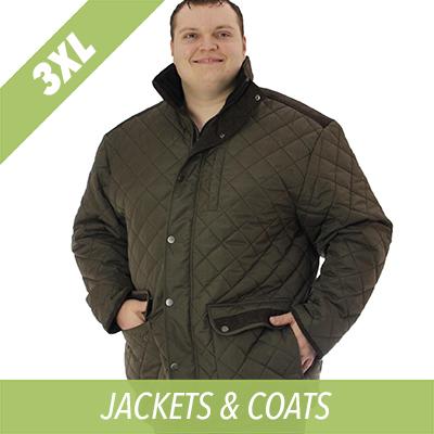 3XL olive jacket