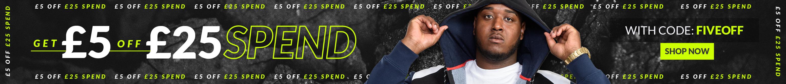 £5 OFF £25 SPEND