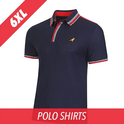 6XL Kangol polo shirt