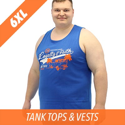 6XL tank top