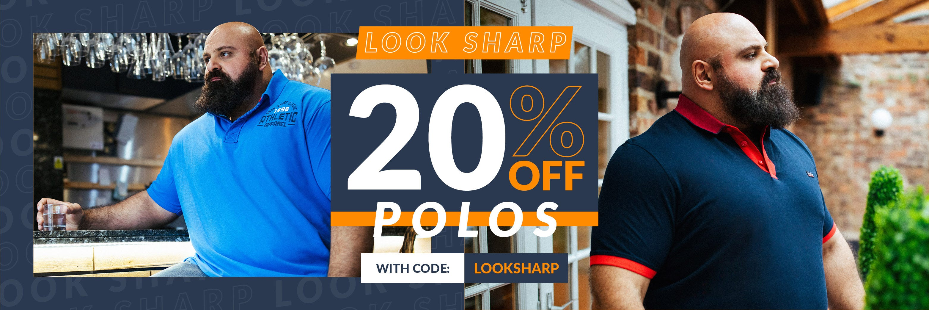 Big Clothing 4 U - 20% Off Big Men's Polos
