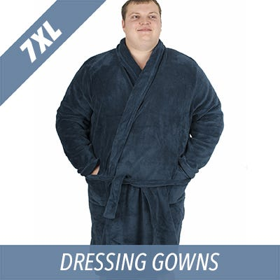 7XL Ed Baxter dressing gown