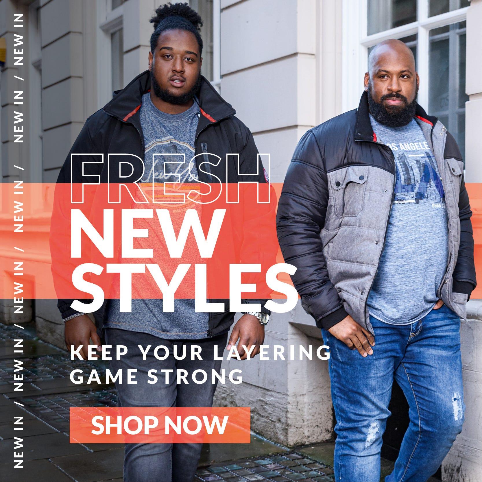 Big Clothing 4 U - Fresh New Styles
