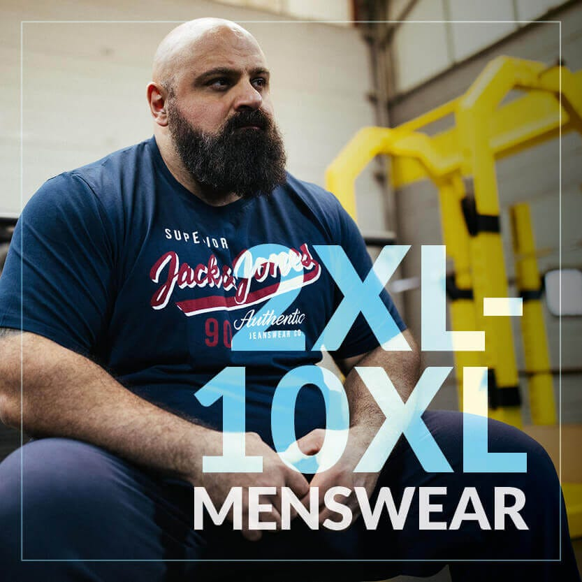Shop Big 2XL - 10XL Menswear