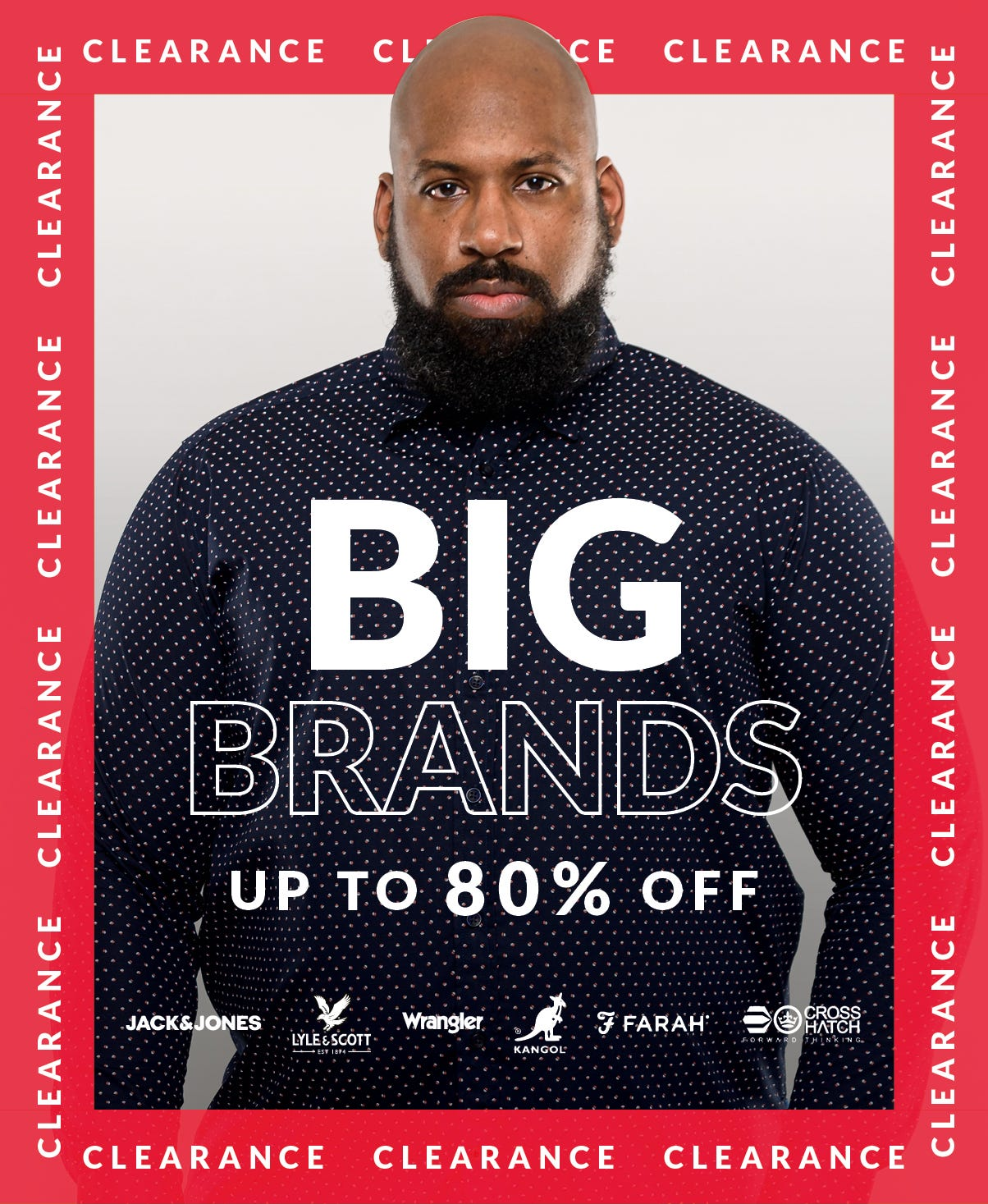 Shop Big Men's Shirts