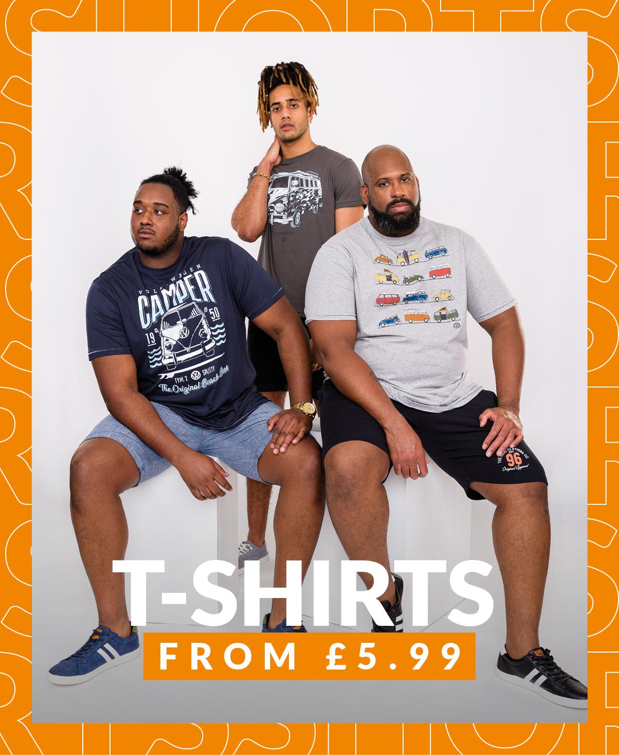 Shop Big Men's T-Shirts