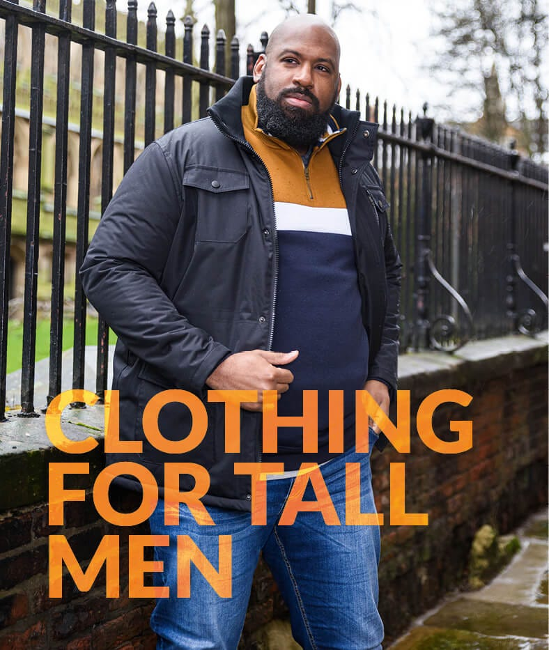 Shop for Tall Men