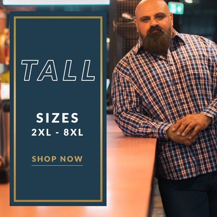 Tall Shop LT - 8XLT Menswear