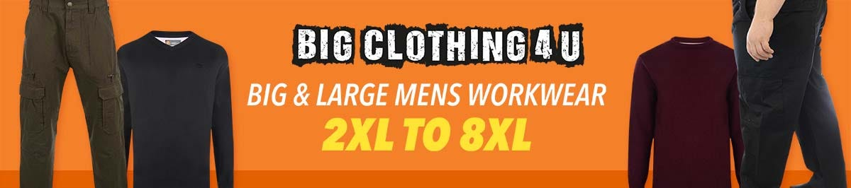 Big and large mens workwear