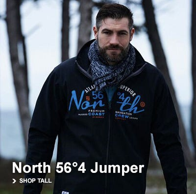 Tall men's Jumpers and Hoodies up to XLT, 2XLT,3XLT,4XLT