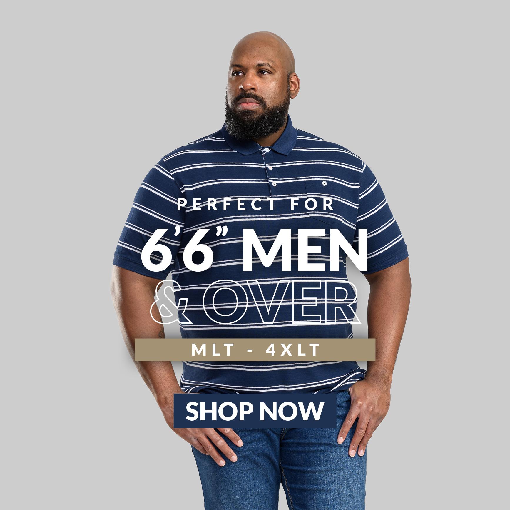 Tall Shop LT - 8XLT Menswear