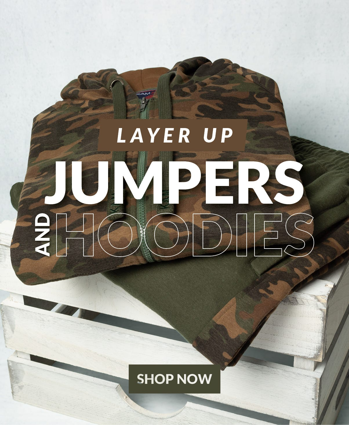 SHOP JUMPERS AND HOODIES