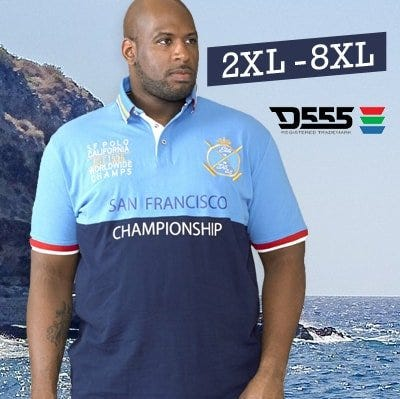 Big men's 2018 Summer Collection up to 8XL