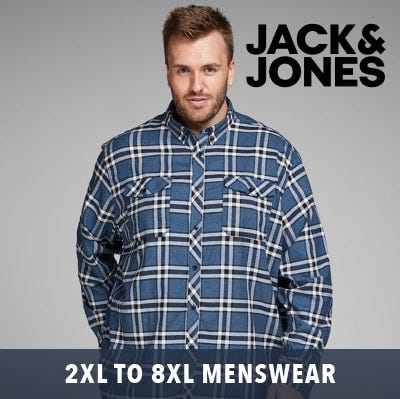 Big men's 2019 2XL up to 8XL