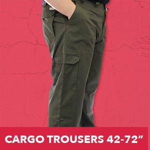Cargo trousers for Big dudes