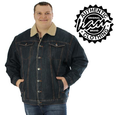 Big and large mens sized Jackets and Coats including sizes 3XL,4XL, 5XL,6XL,7XL,8XL