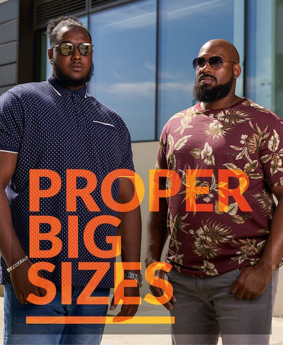Shop Big Men